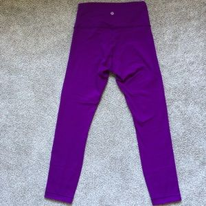 lululemon athletica Pants - Lululemon High Times 7/8 leggings size 6